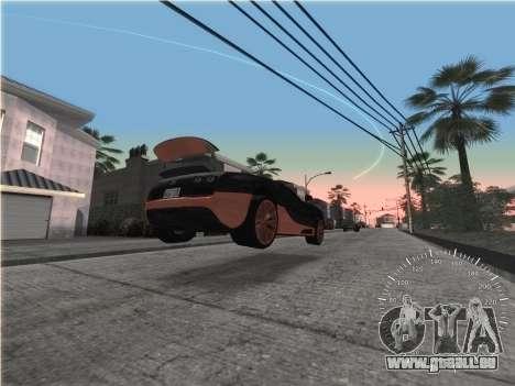 Simple compteur de vitesse pour GTA San Andreas troisième écran