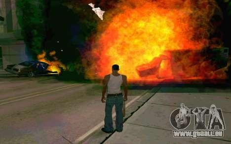 De nouveaux effets pour GTA San Andreas