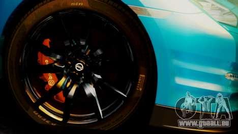 Nissan GT-R 2015 pour GTA San Andreas vue de droite