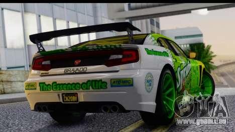 GTA 5 Bravado Buffalo S Sprunk für GTA San Andreas linke Ansicht