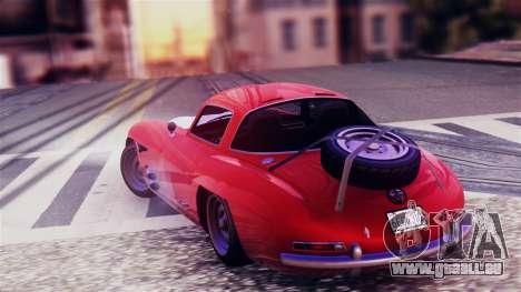 GTA 5 Benefactor Stirling GT für GTA San Andreas linke Ansicht
