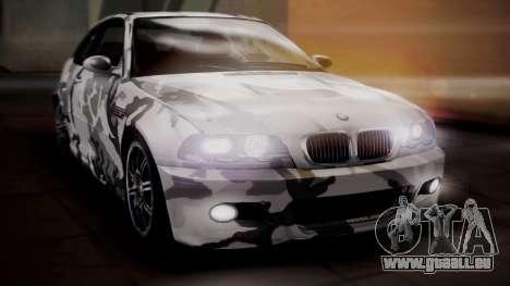 BMW M3 E46 v2 pour GTA San Andreas roue