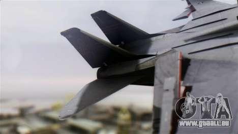 F-14A Tomcat VF-51 Screaming Eagles für GTA San Andreas zurück linke Ansicht