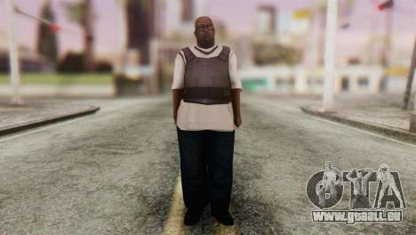 Big Smoke Skin 4 pour GTA San Andreas deuxième écran