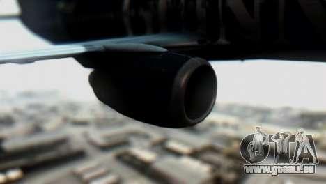 Boeing 737-800 Ryanair Guinness pour GTA San Andreas vue de droite
