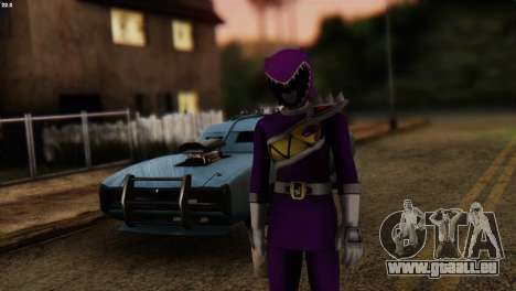 Power Rangers Skin 7 für GTA San Andreas