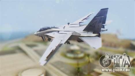 F-14A Tomcat VF-21 Freelancers für GTA San Andreas linke Ansicht