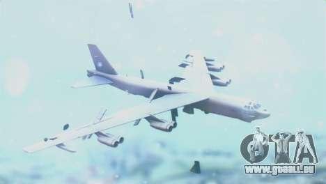 Boeing B-52H Stratofortress für GTA San Andreas