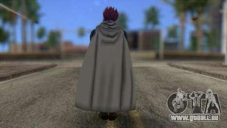 Dragon Ball Xenoverse Mysterious Warrior für GTA San Andreas zweiten Screenshot