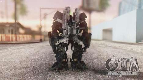 Ironhide Skin from Transformers v3 pour GTA San Andreas troisième écran