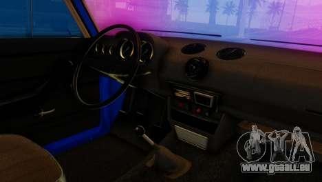 VAZ 2106 Caméléon pour GTA San Andreas vue de droite