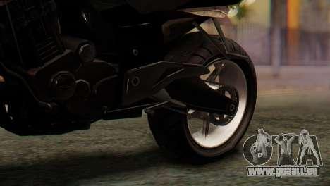 Bajaj Rouser 135 Stunt pour GTA San Andreas vue arrière