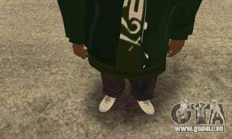 Groove St. Nigga Skin First für GTA San Andreas dritten Screenshot