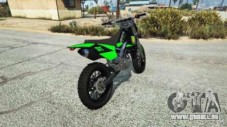 Maibatsu Sanchez Yamaha-KTM-Monster Energy pour GTA 5