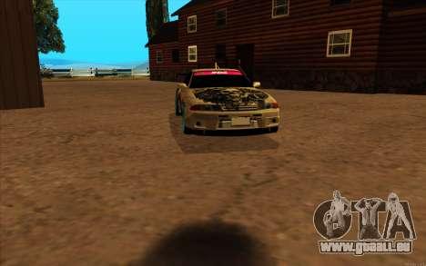 Nissan Skyline R32 RLD pour GTA San Andreas laissé vue