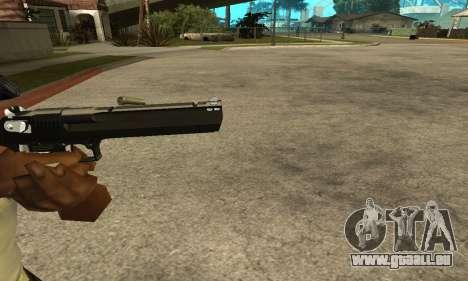 Cool Black Deagle pour GTA San Andreas troisième écran