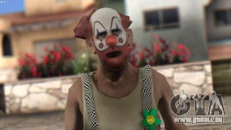 Clown Skin from Left 4 Dead 2 für GTA San Andreas dritten Screenshot