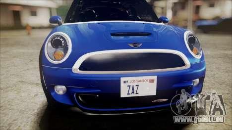 Mini Cooper Clubman 2011 Sket Dance pour GTA San Andreas vue de côté