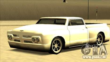 Slamvan Final pour GTA San Andreas vue de droite