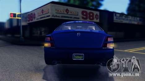 GTA 5 Enus Windsor IVF pour GTA San Andreas salon