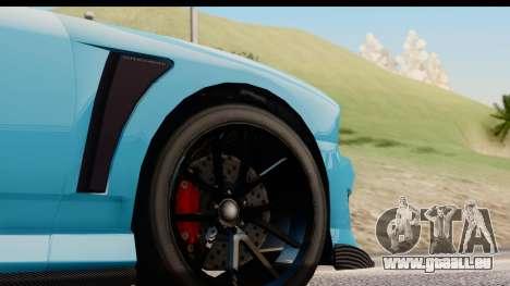 GTA 5 Bravado Buffalo S Sprunk für GTA San Andreas Rückansicht