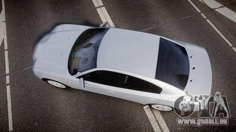 Dodge Charger Traffic Patrol Unit [ELS] bl für GTA 4 rechte Ansicht