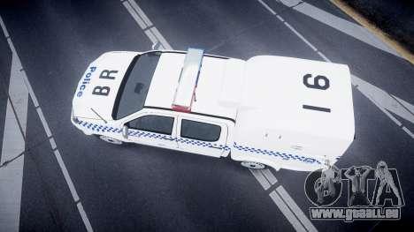 Toyota Hilux NSWPF [ELS] pour GTA 4 est un droit