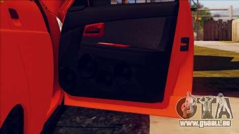 VAZ 2112 Turbo für GTA San Andreas Seitenansicht