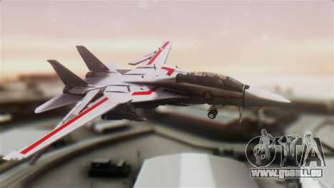 F-14D Tomcat Macross Red für GTA San Andreas