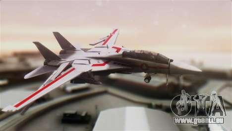 F-14D Tomcat Macross Red pour GTA San Andreas