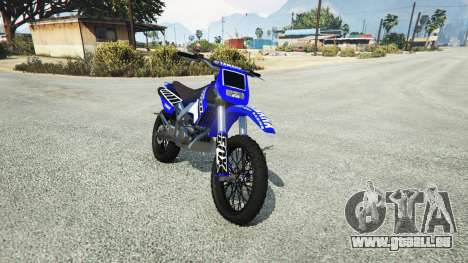 Maibatsu Sanchez Yamaha-KTM-Monster Energy pour GTA 5