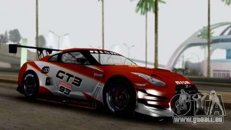 Nissan GT-R (R35) GT3 2012 PJ3 pour GTA San Andreas