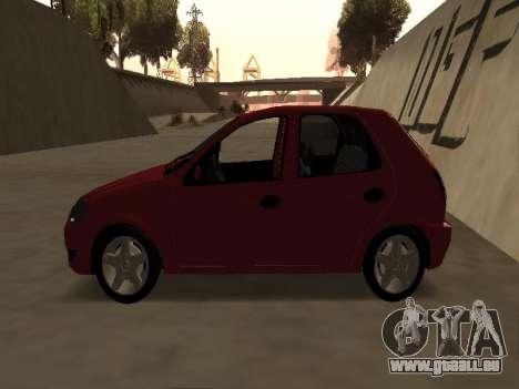 Suzuki Fun 2009 für GTA San Andreas zurück linke Ansicht