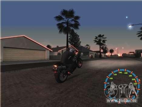 Simple compteur de vitesse pour GTA San Andreas sixième écran