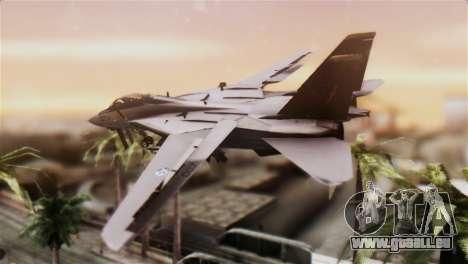 F-14A Tomcat IRIAF für GTA San Andreas linke Ansicht