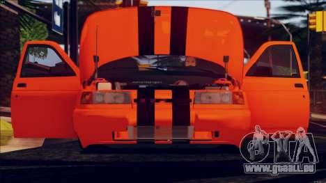 VAZ 2112 Turbo für GTA San Andreas zurück linke Ansicht