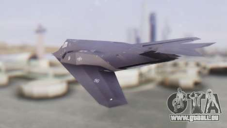 Lockheed F-117 Nighthawk ACAH pour GTA San Andreas laissé vue