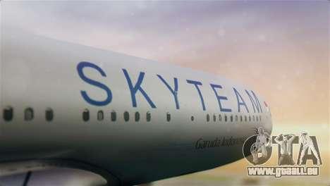 Airbus A330-200 Garuda Indonesia Sky Team für GTA San Andreas Rückansicht