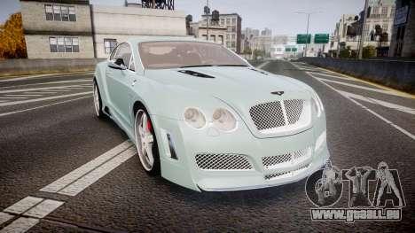Bentley Continental GT Platinum Motorsports pour GTA 4