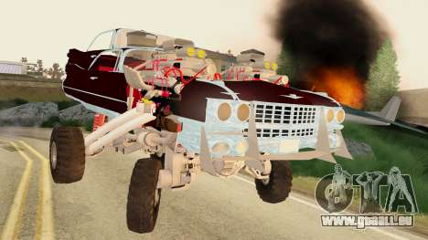 Gigahorse from Mad Max Fury Road für GTA San Andreas