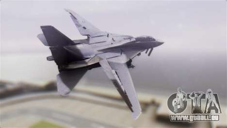 F-14A Tomcat VF-51 Screaming Eagles pour GTA San Andreas laissé vue