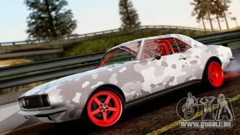 Chevrolet Camaro SS Camo Drift pour GTA San Andreas
