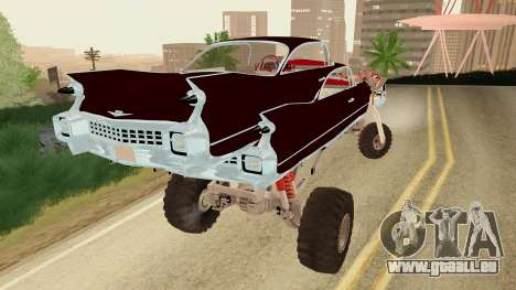 Gigahorse from Mad Max Fury Road für GTA San Andreas linke Ansicht