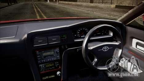 Toyota Chasher Tourer V für GTA San Andreas rechten Ansicht