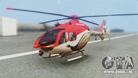 Indian Air Force EC-135 Dhruv SARANG Skin pour GTA San Andreas
