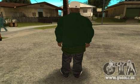 Groove St. Nigga Skin First für GTA San Andreas her Screenshot