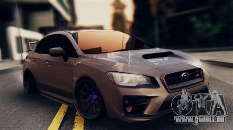 Subaru Impreza WRX STI 2015 pour GTA San Andreas