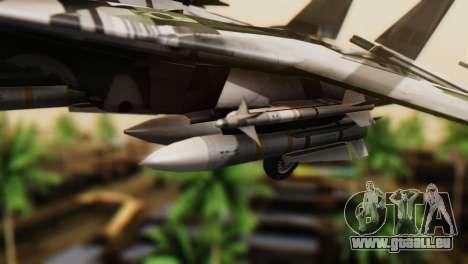 F-14D Super Tomcat VF-2 Bounty Hunters für GTA San Andreas rechten Ansicht