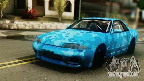 Nissan Skyline R32 Camo Drift pour GTA San Andreas