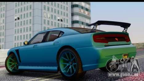 GTA 5 Bravado Buffalo S Sprunk pour GTA San Andreas vue de droite